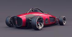 Audi union 2017 by Burov art on Behance // Read about it on http://www.topgear.com/car-news/motorsport/futuristic-interpretation-1930s-racer-entirely-lovely
