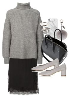 """""""Untitled #10971"""" by minimalmanhattan on Polyvore featuring Zara, Uncommon, Helen Moore, Étoile Isabel Marant, Givenchy, Topshop, Alexander McQueen, Rosa Maria, women's clothing and women's fashion"""