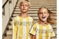 Friendship is an editorial from the Spectrum Issue of Hooligans magazine, Issue 16. Editorial by photographer Andrew Grimes featuring Molo, Barn of Monkeys, Bobo Choses and many more kids fashion labels on the Junior Style Kids Fashion blog.