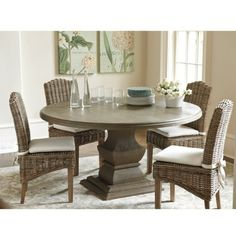 Andrews Pedestal Dining Table