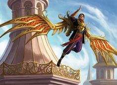 Weldfast Wingsmith - MtG Art