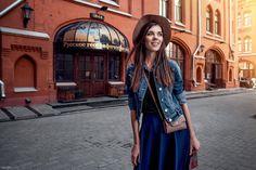 Модель - Ольга Елизарова Model - Olga Elizarova Визаж и прическа - Ирина Попова MUA & Hair - Irina Popova