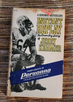 Instant Replay(The Green Bay Diary of Jerry Kramer), 1969 by HoardersBazaar on Etsy