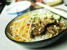 Bun Thit Nuong (Da Nang style)