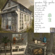 https://flic.kr/p/ScMPUe | ..::THOR::.. The Garden Life Gacha Set - The Guardian Event | maps.secondlife.com/secondlife/Bella%20Gacha/30/126/39