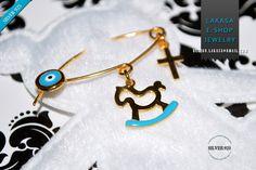 Best price #horse #baby #boy #enamel #brooch #silver #jewelry #motherday #joyas #carousel #pony #mujer #woman #jewellery #μωρο #νεογεννητο #δωρο #παραμανα #καρφιτσα #αγορι #αλογακι Blue Enamel Baby Brooch Pony Carousel Sterling Silver 925 Gold-plated Handmade Jewelry with Cross Enamel Eye Χειροποιητη Καρφιτσα Παραμανα Μωρου Ασημενια 925 Επιχρυση Αλογακι Σμαλτο Γαλαζιο με Σταυρο Ματακι φυλαχτο Ιδεα Δωρο για Νεογεννητα, Μητερα & ημερα βαφτισης τα πρωτα γενεθλια μωρου.  Ελληνικο Χειροποιητο… Enamel Jewelry, Fine Jewelry, Cross Jewelry, Belly Button Rings, Birthday Gifts, Pony, Handmade Jewelry, Brooch, Drop Earrings