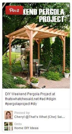 DIY Pergola Project