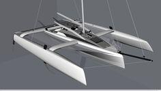 Trimaran Projects and Multihull News: Tony Grainger designed Rocket 25 ...