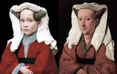 """- The """"Old Masters"""" photography series by Rainer Elstermann recreates classic paintings by replacing the original painting's models. Tableaux Vivants, Famous Portraits, Classic Paintings, Modern Paintings, Famous Artwork, Photography Series, Getty Museum, Ppr, Great Photographers"""