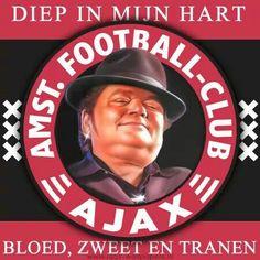 Ajax - Andrè Hazes Afc Ajax, Ronaldo, Amsterdam, Soccer, Club, Baseball Cards, Sport, Holland, Om
