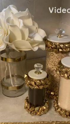 Diy Crafts For Home Decor, Diy Crafts Hacks, Diy Crafts For Gifts, Diy Arts And Crafts, Diy Wall Decor, Dollar Tree Decor, Luxury Dining Room, Dollar Store Crafts, Creative Decor