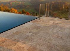 Terrassenplatten Wahl Die Farbe Und Das Muster Der Schale Sehr - Günstige terrassenplatten holz