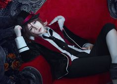 Steamed buns (诺馒头) asSakamaki Laito of Diabolik Lovers Male Cosplay, Casual Cosplay, Best Cosplay, Anime Cosplay, Subaru, Diabolik Lovers Laito, Anime Makeup, Steamed Buns, Amazing Cosplay