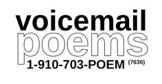 """Founded in April 2012 by the poet laureate of FEELING VERY UNCOMFORTABLE, John Mortara, Voicemail Poems features """"missed calls you actually want to hear""""—it's also one of my favorite homes for find..."""