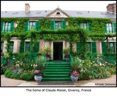 Giverny France - the home of Claude Monet.