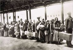 During 1892, the year the Ellis Island Immigration Station opened, and the year book opens, 450,000 immigrants took their first steps on American soil.
