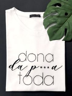 Diy Clothes Tutorial, Cool Outfits, Tee Shirts, T Shirts For Women, Embroidery, Sewing, How To Wear, Handmade, Fashion