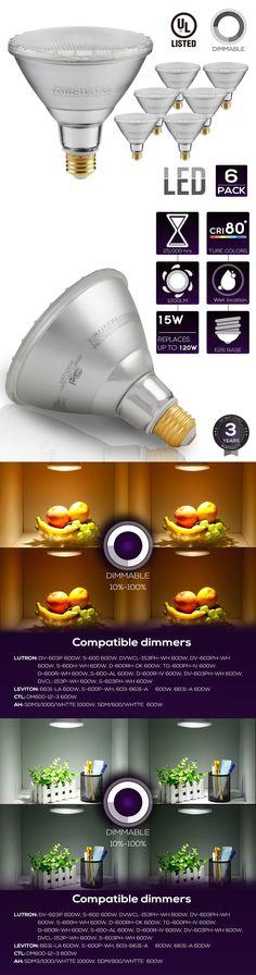 Light Bulbs 20706: Par38 Led Light Bulb, 15W (120W Equivalent), 2700K 5000K, Spot Light -> BUY IT NOW ONLY: $47 on eBay!