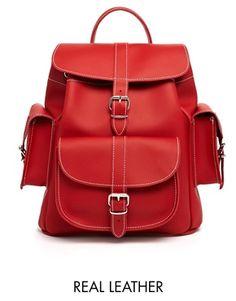 Grafea Hari Backpack in Red