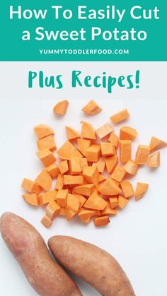 Veggie Recipes, Vegetarian Recipes, Chicken Recipes, Healthy Recipes, Toddler Meals, Kids Meals, Toddler Food, Cooking Sweet Potatoes, Potato Puree