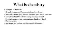 What Is Chemistry, Organic Chemistry, Water Quality, Computer Hardware, Biochemistry, Space Shuttle, Drugs, Physics, Medical