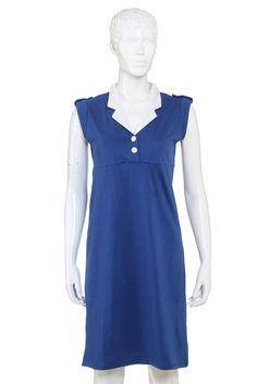 Women's Dress in Navy - s12mcwt008
