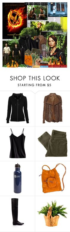 """""""The Hunger Games..."""" by purplecherryblossom ❤ liked on Polyvore featuring Bench, Rick Owens, H&M, Nudie Jeans Co., Jérôme Dreyfuss, Zara and Trilogy"""