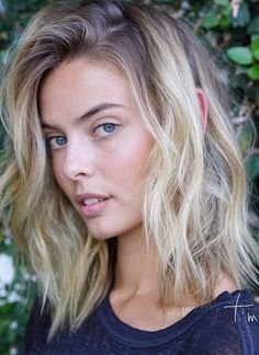 Get inspired by our top shoulder length blonde ombre hairstyles 2017 2018.