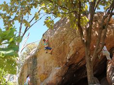 Rock climbing has many different disciplines , bouldering is one of them .