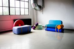 Colorful Blocks To Configure Living Room Setups