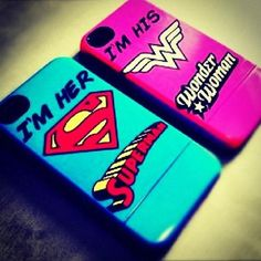 WANT. WANT. WANT. MY BOYFRIEND AND I WOULD SO HAVE MATCHING SUPERHEREO CASES!!! (Ya know, that is if i had one...)