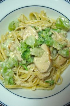 Lemon Fettuccine Alfredo with Grilled Chicken and Broccoli: Savory Sweet and Satisfying