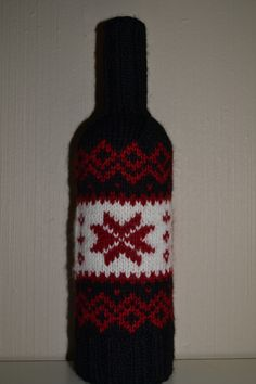 Wine bottle sweater / vinflaske genser
