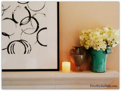 DIY Abstract Art from Free Stylin' Beth