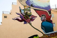 Same84 (Carpe Diem) Athens Street Art. Greece.