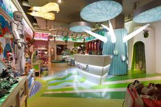 Gallery of the Grand America Hotel's JouJou in  Salt Lake City.  The most magical & interactive toy shop I've ever been in... and I've been in a few.  Watts Architects.