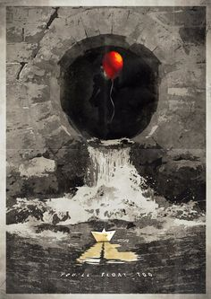 Cool Art: Stephen King's It by Daniel Gaze | Live for Films