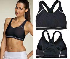 Nike Womens Size S 4-6 Determination Sport Bra Black Running Yoga 322654-010 #Nike #SportsBras