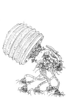 Fetus Harvester (The Matrix) by Geof Darrow