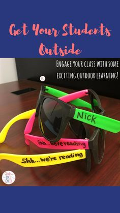 The One About Learning Outdoors (Get Your Students Outside!)