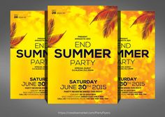 5 Summer Party Flyer Bundle Templates 5 Summer Party Flyer Bundle Specification CMYK Color Mode 300 DPI Resolution Size Blee by Party Flyers Business Flyer Templates, Flyer Design Templates, Psd Templates, Real Estate Ads, Brochure Layout, Corporate Flyer, Party Flyer, End Of Summer, Design Bundles