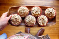 Coffee Coffee Cake Muffins - totally making these. via Joy the Baker