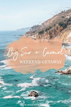 Planning a weekend getaway in Big Sur and Carmel? Here's how we did it, including photos, tips, and our itinerary!