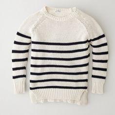Steven Alan black stripe billy pullover sweater Effortlessly cool Steven Alan raglan billy sweater. Good condition, no stains holes or pulls. Lightweight, 100% cotton. Steven Alan Sweaters Crew & Scoop Necks