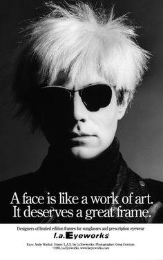 Best Tag line EVER in eyewear...