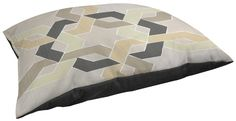 Thumbprintz Indoor/Outdoor Large Breed Pet Bed, Non Embellished Deco Stitch, Multi Colored * To view further, visit now