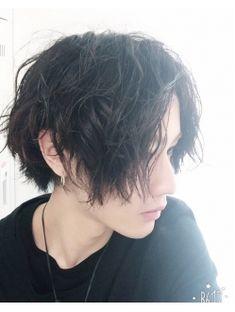 cut3600円グランジミディアムスマートマッシュ耳掛け