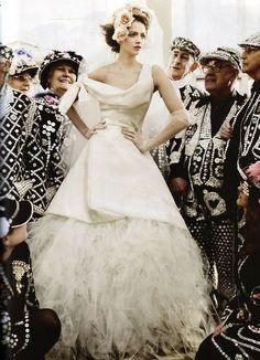 Vogue UK May 2011 - Viviane Westwood
