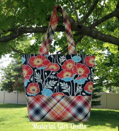 Nottinghill Tote Bag {a finished Teacher gift!}
