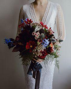 gem tone bouquet